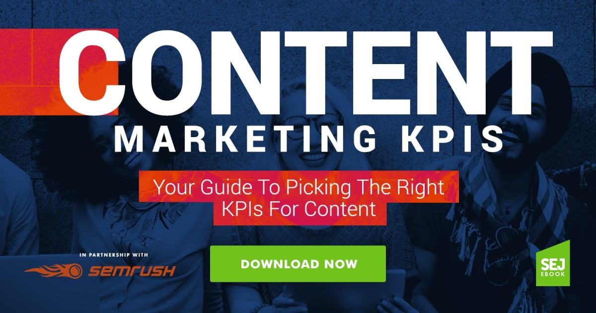 kpis in content marketing