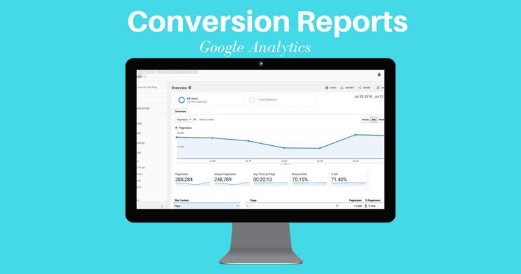 تقرير تحويل جوجل التحليلات