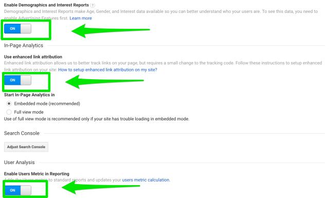 google-analytics-property-settings