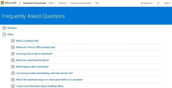 Microsoft FAQs