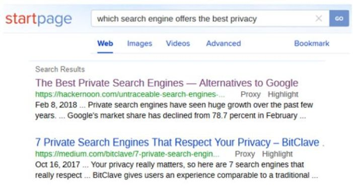 Top Best Google Search Engine Alternatives