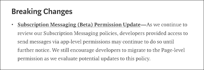 facebook-messenger-breaking-changes