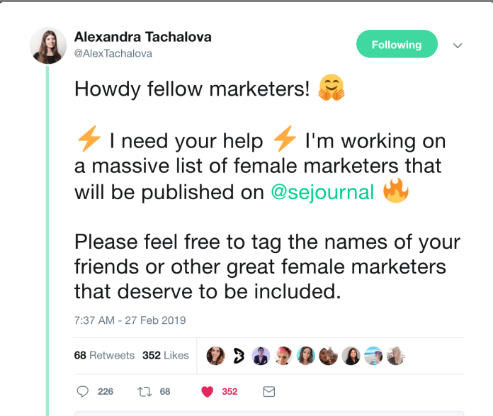 100+ Awesome Women Marketers You Should Follow