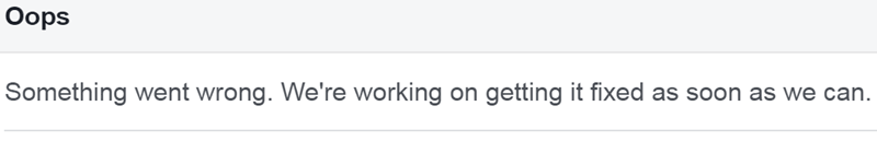 Massive Facebook Outage