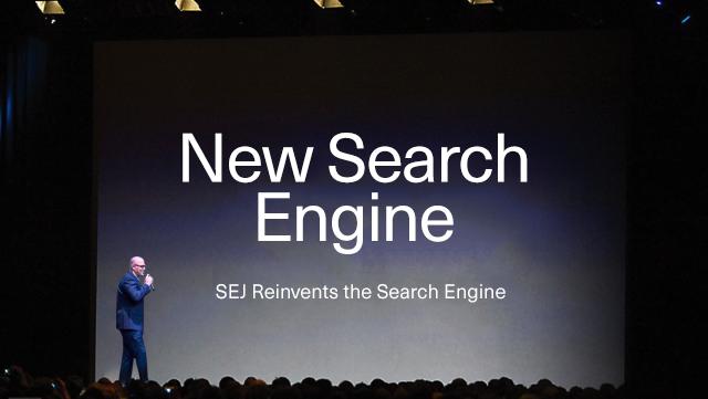 Loren Baker Introduces SEJ Search Engine