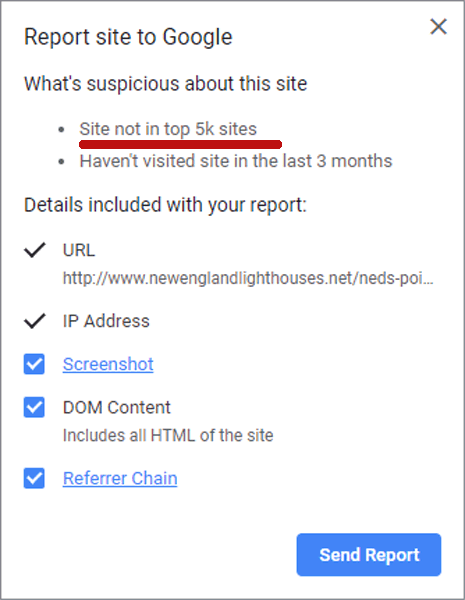 New Chrome Security Extension Flags Small Sites as Suspicious