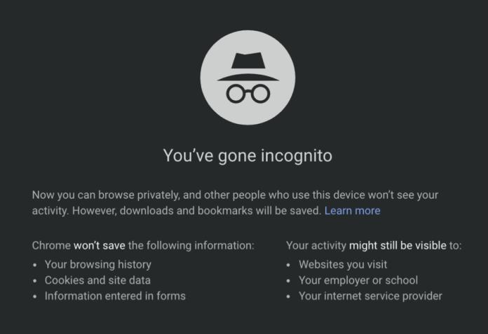 Incognito Mode