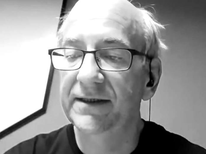 Screenshot of Google's John Mueller in a Webmaster Hangout