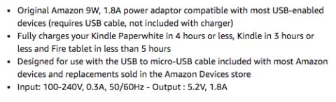 Amazon Bullets Adaptor