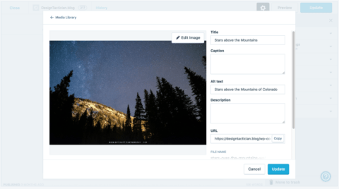 Jetpack content delivery for images