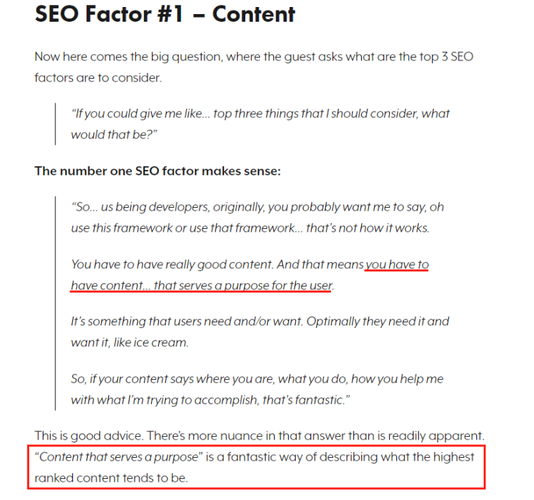 The #1 Factor That Will Help Your Content Rank in Google
