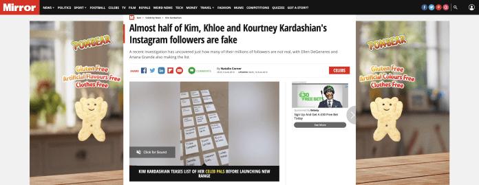 Fake Followers Mirror