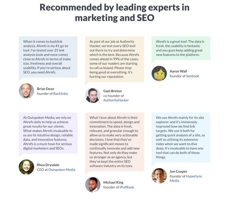 How to Build Links Using Testimonials & Reviews