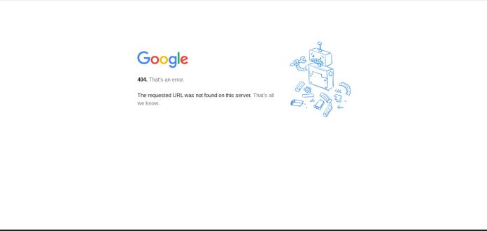 Screenshot showing Google Plus is gone