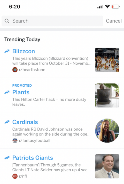Reddit Launches a Twitter-like Ad Unit: Trending Takeovers