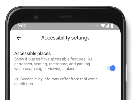 New Google Maps Feature Highlights Wheelchair Accessible Places