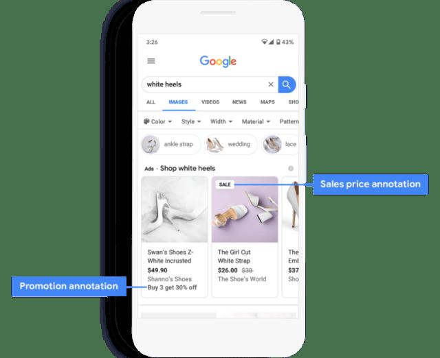 ستبرز Google أفضل صفقات التسوق في نتائج البحث