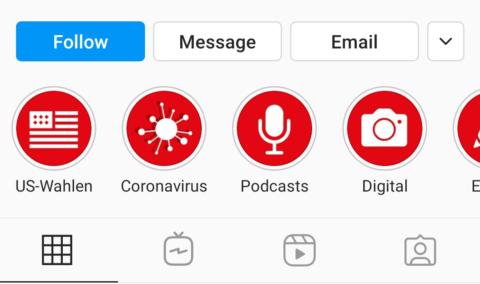 تبرز قصص instagram الروابط