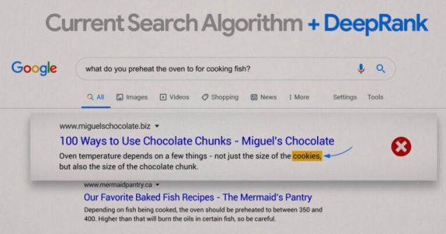 Google DeepRank: الحدود التالية لترتيب نتائج البحث