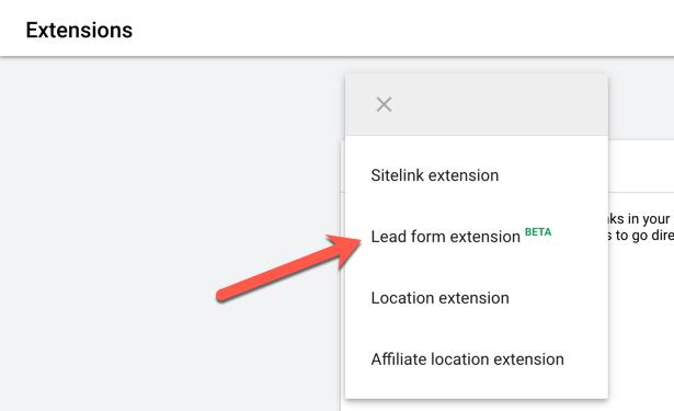 يقدم برنامج إعلانات Google تحسينات على إضافات نماذج العملاء المحتملين