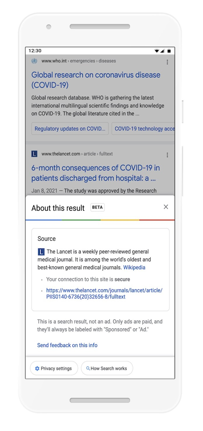 Google Adds More Info About Domains in Search Results