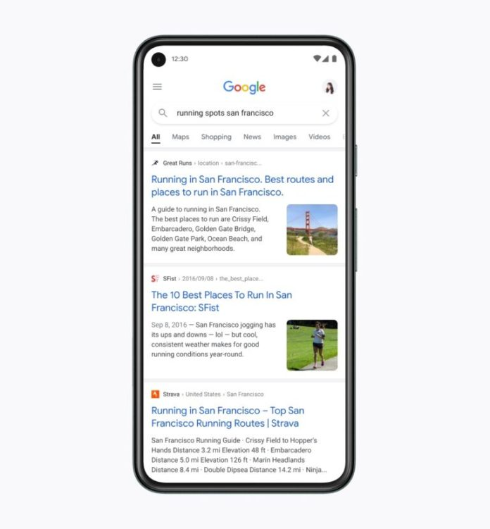 Google Redesigns Mobile Search Results