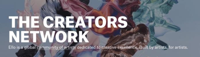 Ello - a social network for creators.