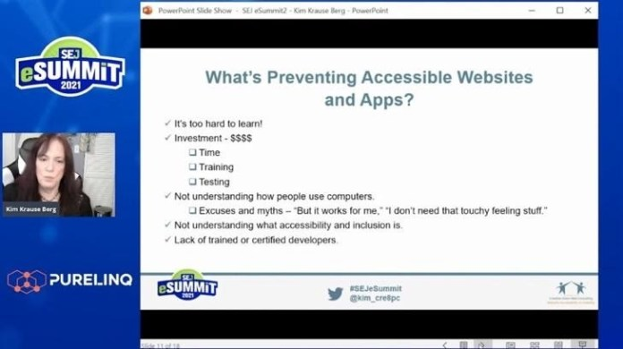 Kim Krause Berg on why business owners and organizations need accessible websites.