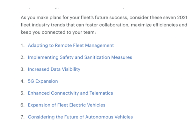 fleet management trends