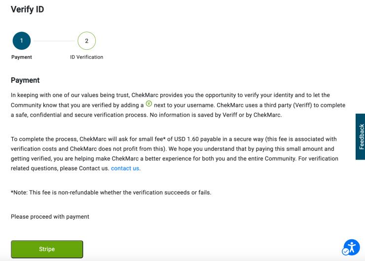 ChekMarc verification process