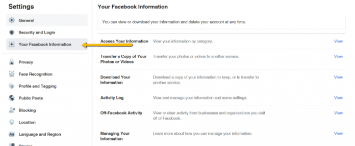 Download all your Facebook data easily.
