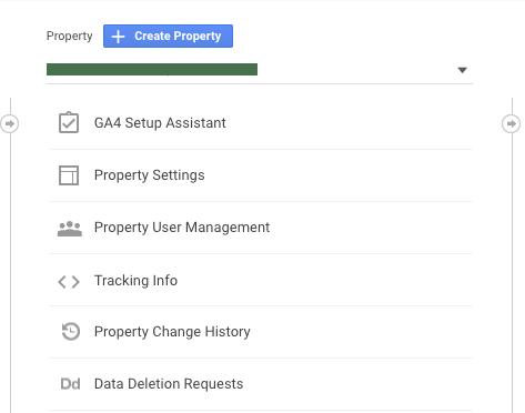 Google Analytics Click GA4 Setup Assistant Screenshot.