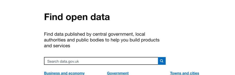 Data gov