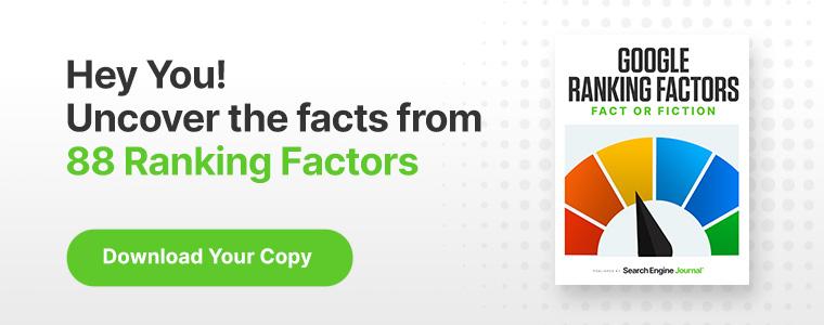 Is Alt Text a Google Ranking Factor?