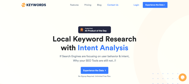 GetKeywords uncommon keyword research tool.