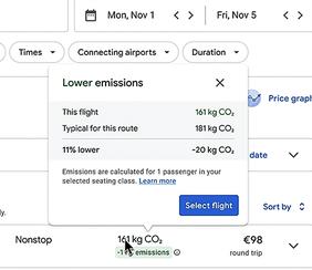 google maps fuel efficient