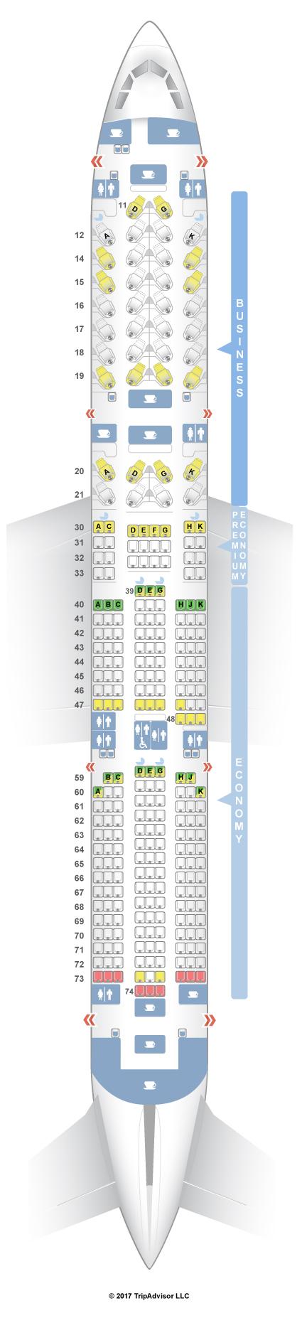 SeatGuru Seat Map Cathay Pacific - SeatGuru