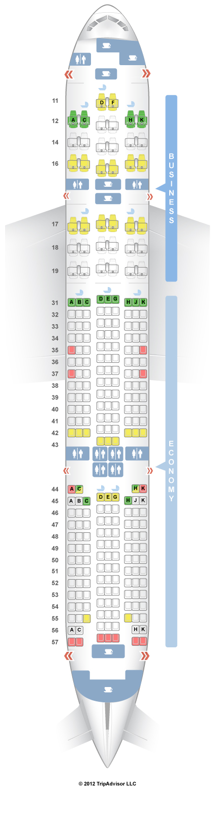 Seatguru Seat Map Singapore Airlines Boeing 777 200er 772 V2