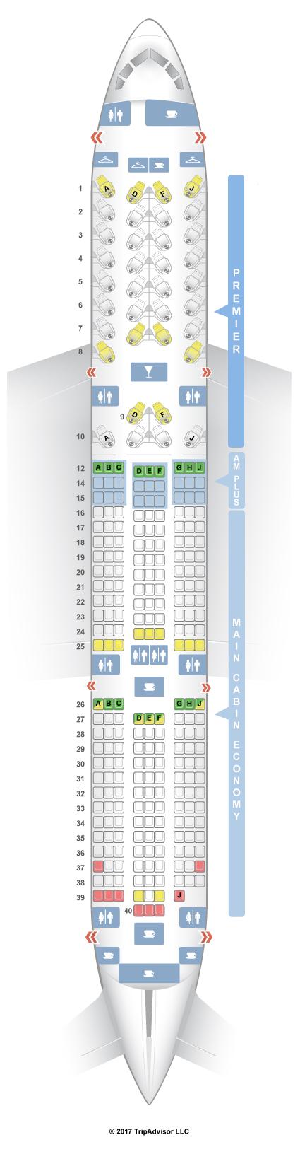 Boeing 787 9 Floor Plan | Floorviews co