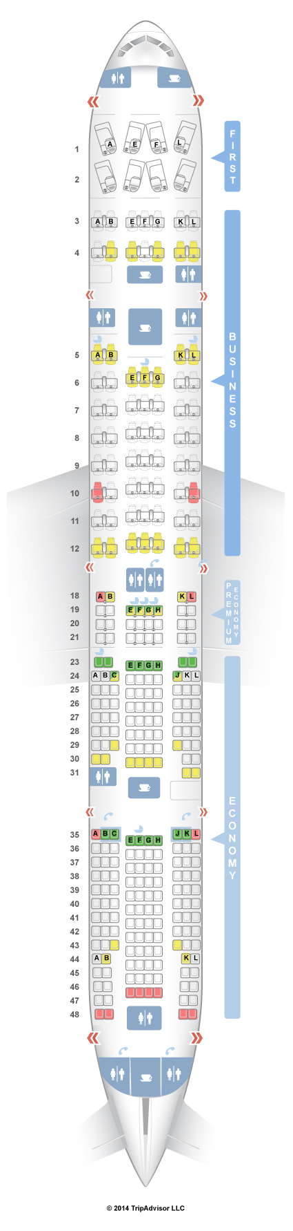 Seating Plan Boeing 777 300er Air France Brokeasshome Com