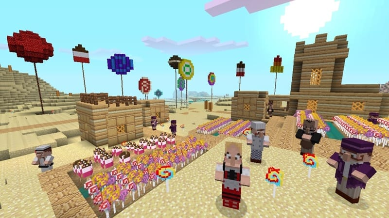 Minecraft Candy Texture Pack DLC Goes Live Price