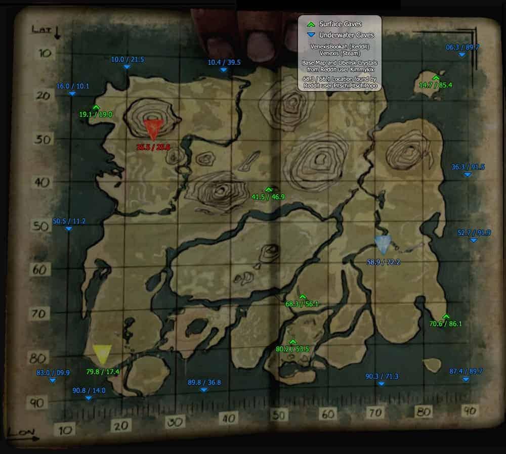 Survival Evolved Ark Maps