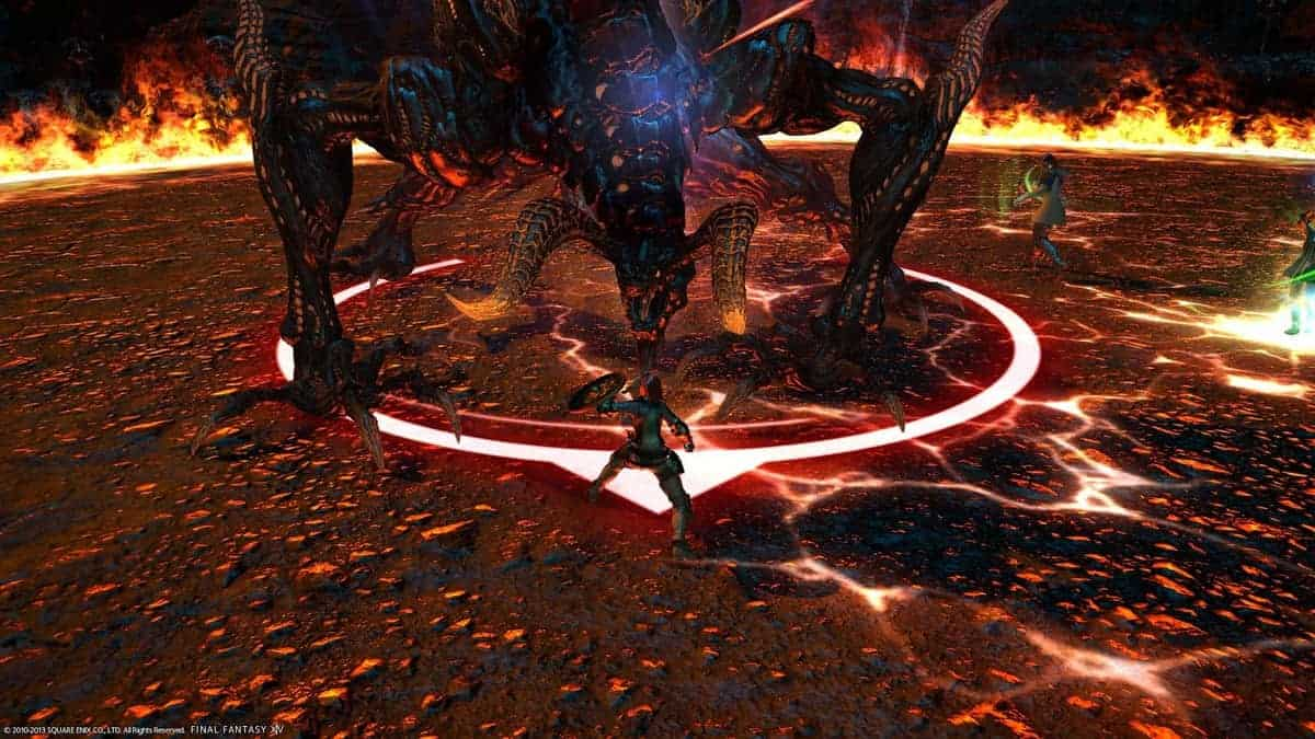 Final Fantasy XV Ifrit Boss Battle Guide Defeat The Fire