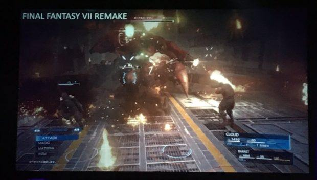 New Final Fantasy VII Remake Images Hint At KH Esque