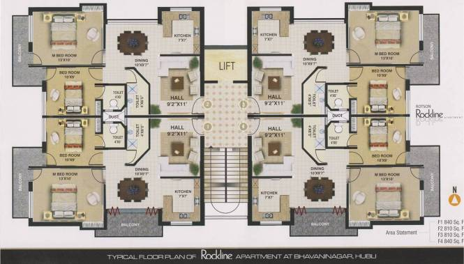 Floor Plans Apartments India Small