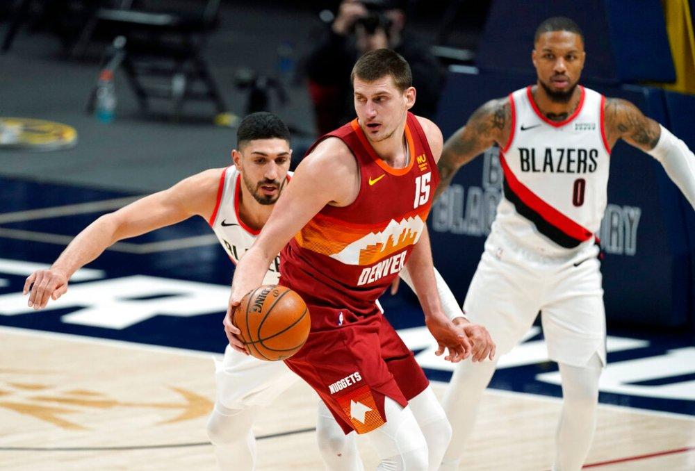 Jokic scores 41, Nuggets beat Trail Blazers 111-106 - Sentinel Colorado