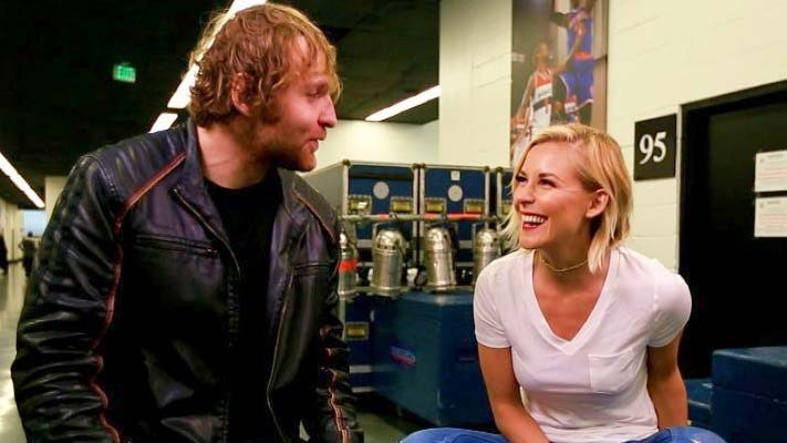 Image result for Renee Young Officially Announces Marriage to Dean Ambrose