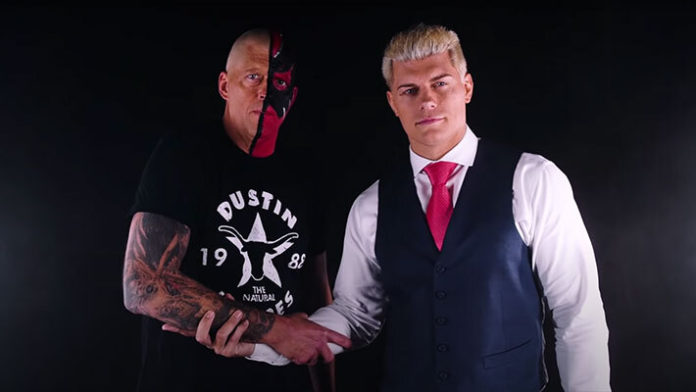 Dustin Rhodes Opens Up On Relationship With Cody
