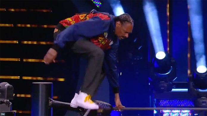 Snoop Dogg Dives Off The Top Rope At AEW Dynamite (Video)