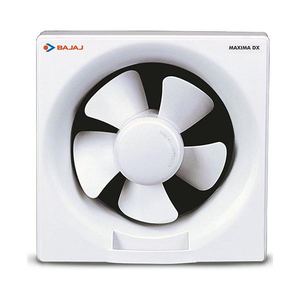 bajaj maxima dxi 300 mm white dom plastic body exhaust fan